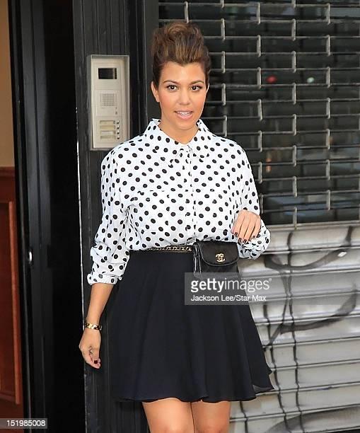 Kourtney Kardashian sighting on September 13 2012 in New York City