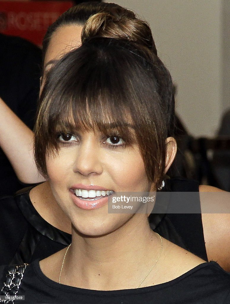 Kourtney Kardashian signs autographs for fans during a Sears In-Store Appearance For Kardashian Kollection at Willowbrook Mall on May 4, 2013 in Houston, Texas.