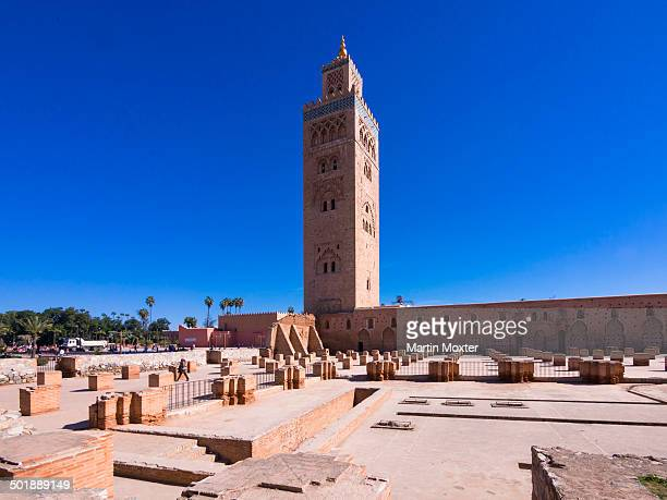 koutoubia mosque stock photos and pictures getty images. Black Bedroom Furniture Sets. Home Design Ideas
