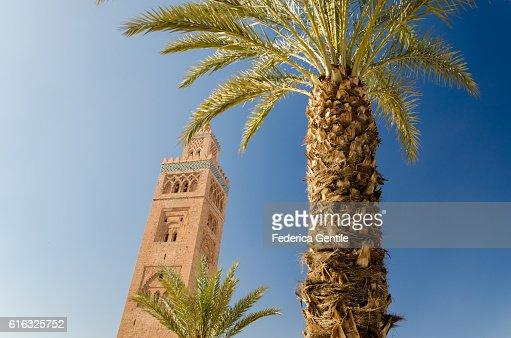 Koutoubia Mosque : Stock Photo
