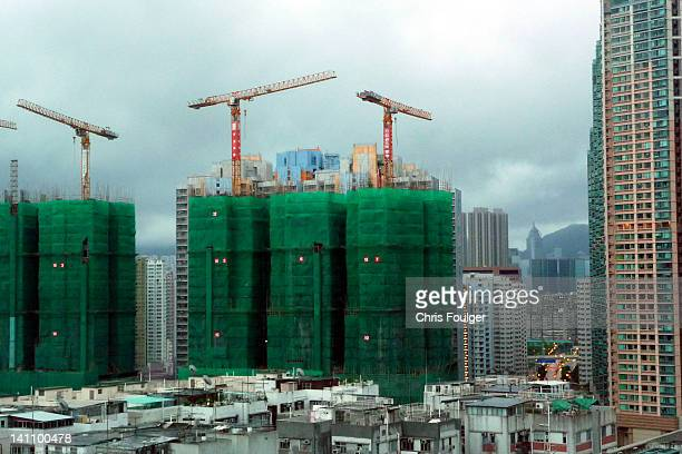 Kowloon apartment building construction
