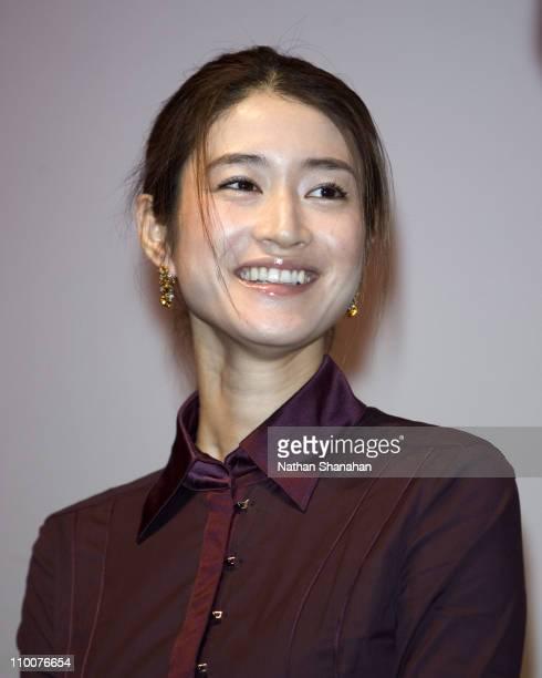 Koyuki during 18th Tokyo International Film Festival 'Always Sunset on Third Street' Stage Greeting at Toho Virgin Cinema in Tokyo Japan