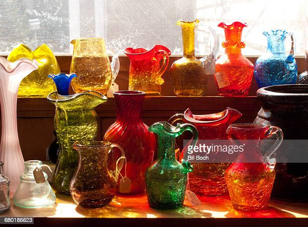 Krackle Glass collection