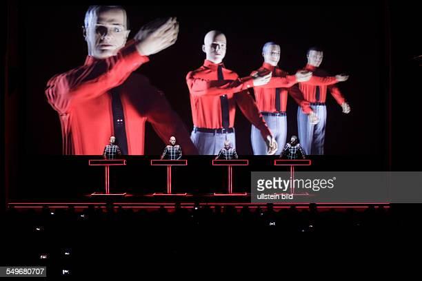 Kraftwerk Konzert Auftritt Kunstsammlung NordrheinWestfalen in Düsseldorf