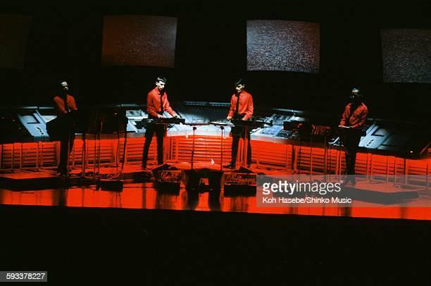 Kraftwerk live at Nakano Sun Plaza Tokyo September 7 1981