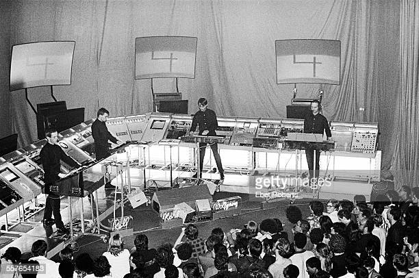 Kraftwerk performing at The Ritz in New York City on August 4 1981