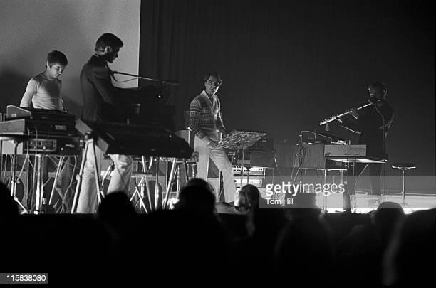 Kraftwerk performs at Alex Cooley's Electric Ballroom
