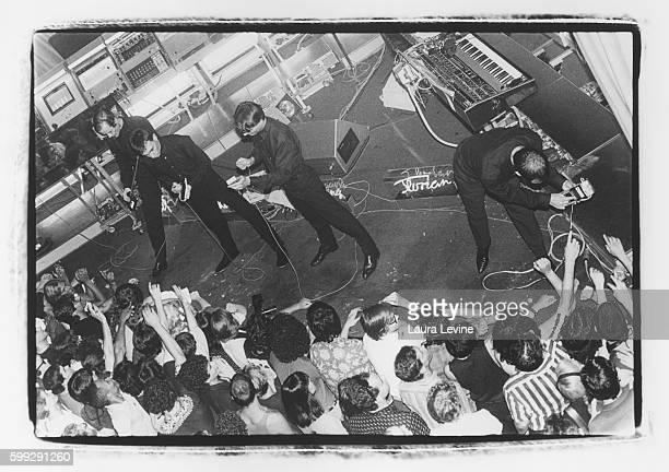 Kraftwerk performs at The Ritz in NYC 1981 © Laura Levine