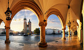 Krakow at sunrise, Poland.