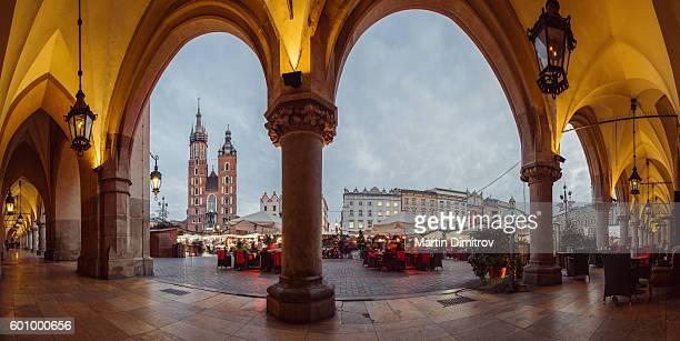 Krakow before Christmas