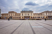 krakow glowny station is largest railway