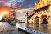 Krakow Market Square, Poland