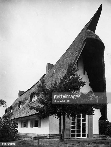 Krauskopf Bruno Painter Graphic Artist Germany *09031892 his house in Saarow architect Harry Rosenthal 1926 Photographer Lili Baruch Published by...
