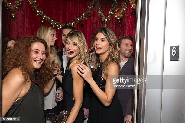 Krav Maga expert Gabrielle Fellus gym owners Maddalena Corvaglia and Elisabetta Canalis attend Elisabetta and Maddalena For SkyViewLA on December 9...