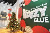 Krazy Glue Creates The Kraziest Holiday Store Yet