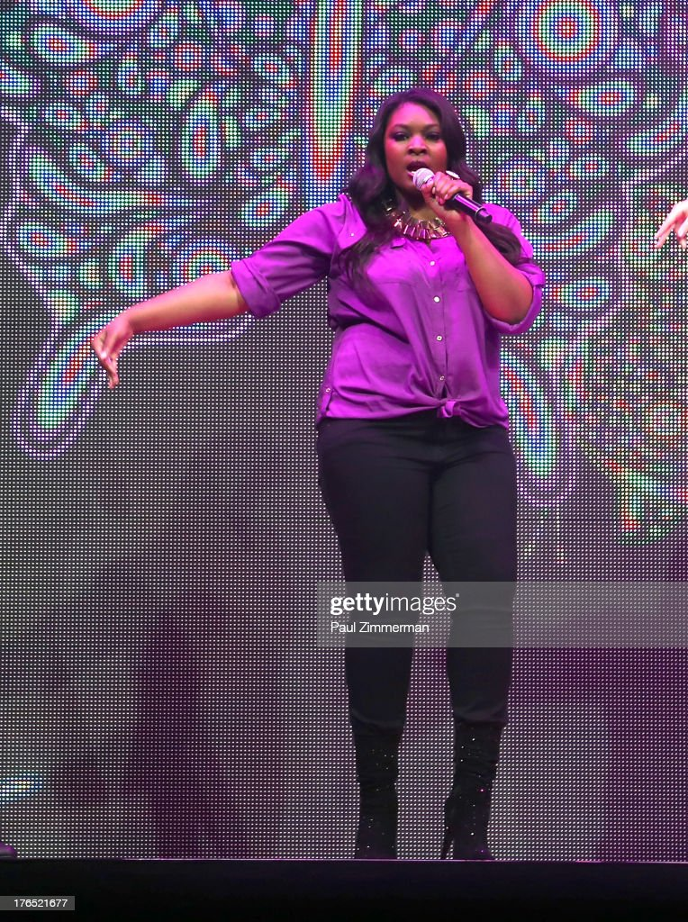 <a gi-track='captionPersonalityLinkClicked' href=/galleries/search?phrase=Kree+Harrison&family=editorial&specificpeople=10539034 ng-click='$event.stopPropagation()'>Kree Harrison</a> performs during American Idol Live! 2013 at Prudential Center on August 14, 2013 in Newark, New Jersey.
