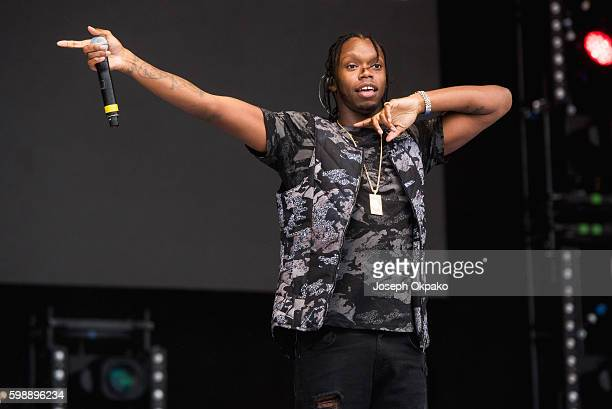Krept of Krept and Konan performs at Fusion Festival on Otterspool Promenade on September 3 2016 in Liverpool England
