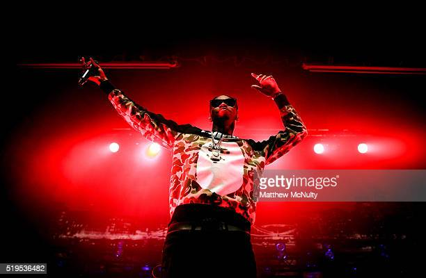 Krept of Krept Konan performs at The O2 Ritz Manchester on April 4 2016 in Manchester England