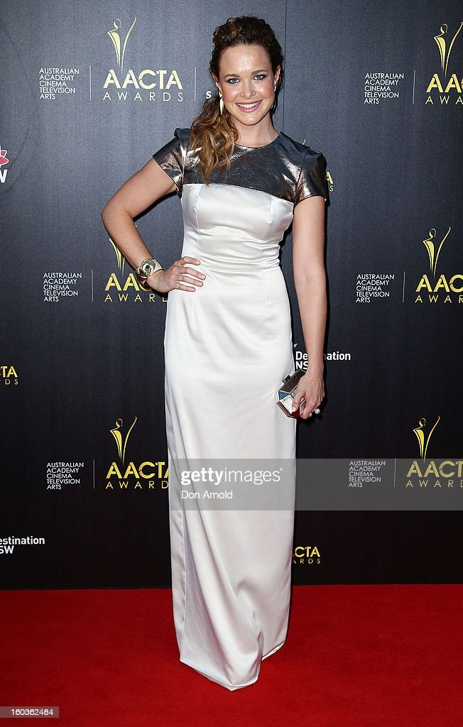 Krew Boylan arrives for the 2nd Annual AACTA Awards at The Star on January 30, 2013 in Sydney, Australia.