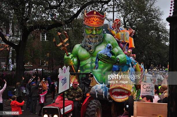 CONTENT] Krewe of Proteus parading on Mardi Gras Day Fat Tuesday New Orleans LA February 11 2013