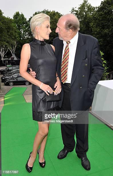 Kriemhild Jahn and Ralph Siegel attend the BayWa Charity Gala at Haus der Kunst on June 7 2011 in Munich Germany