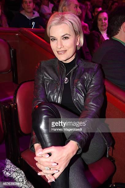 Kriemhild JahnSiegel attends the 'Wunderwelt der Manege' Circus Krone Premiere on February 1 2015 in Munich Germany