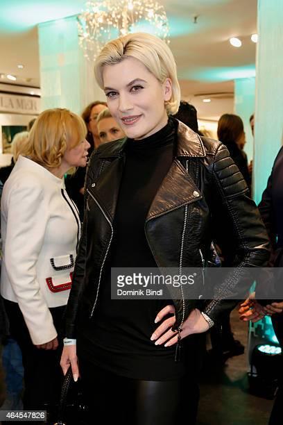 Kriemhild Maria Siegel attends the Douglas Cosmopolitan Celebrate After Prix de Beaute Event on February 26 2015 in Munich Germany
