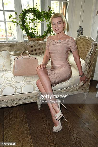 Kriemhild Siegel attends the DKMS Ladies Lunch at the Kaefer restaurant on April 23 2015 in Munich Germany
