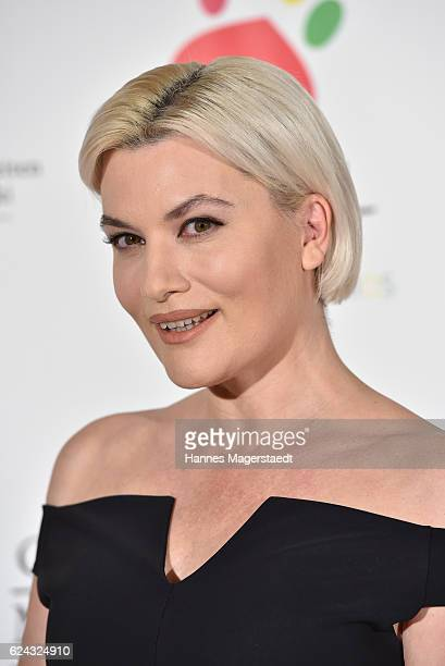 Kriemhild Siegel during the charity dinner hosted by the Leon Heart Foundation at Hotel Vier Jahreszeiten on November 18 2016 in Munich Germany