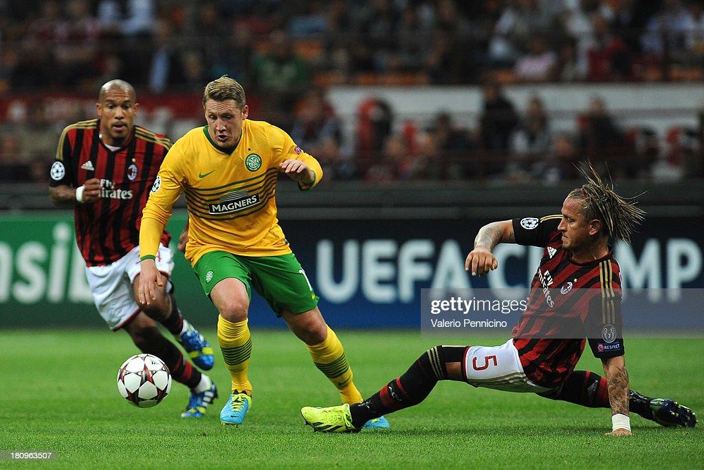 AC Milan v Celtic - UEFA Champions League