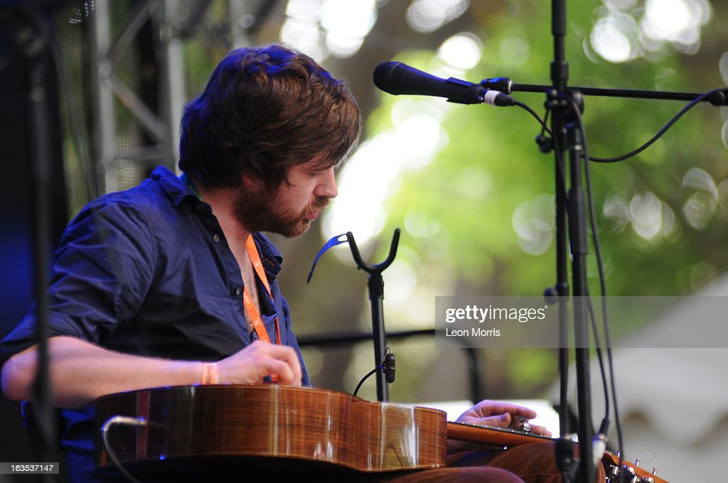 Kris Devar from the band Lau, performs on stage at Womadelaide 2013 at Botanic Park on March 9, 2013 in Adelaide, Australia.