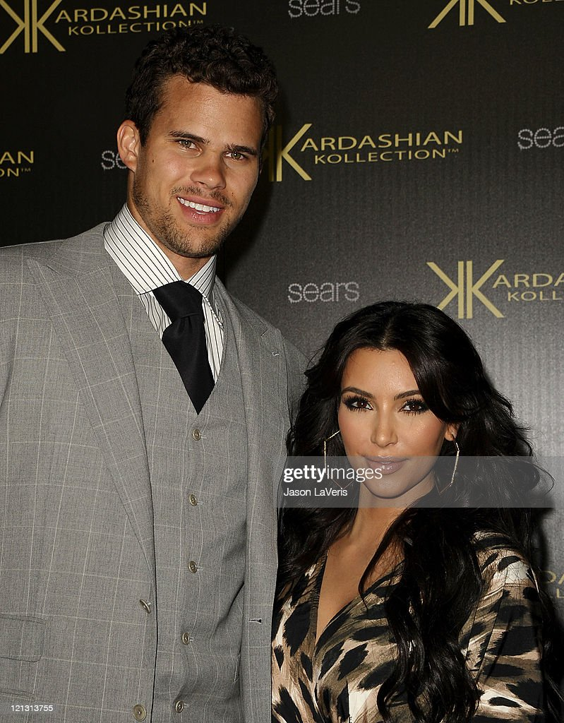 <a gi-track='captionPersonalityLinkClicked' href=/galleries/search?phrase=Kris+Humphries&family=editorial&specificpeople=209199 ng-click='$event.stopPropagation()'>Kris Humphries</a> and <a gi-track='captionPersonalityLinkClicked' href=/galleries/search?phrase=Kim+Kardashian&family=editorial&specificpeople=753387 ng-click='$event.stopPropagation()'>Kim Kardashian</a> attend the Kardashian Kollection launch party at The Colony on August 17, 2011 in Hollywood, California.