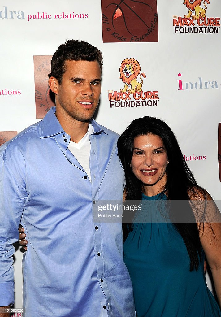 <a gi-track='captionPersonalityLinkClicked' href=/galleries/search?phrase=Kris+Humphries&family=editorial&specificpeople=209199 ng-click='$event.stopPropagation()'>Kris Humphries</a> and MJ Pedone attend The Trent Tucker Celebrity Gala presented by the All 4 Kids Foundation and The Max Cure Foundation at STK on September 9, 2012 in New York, New York.