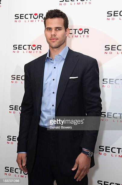 Kris Humphries announces his brand endorsements at the Trump SoHo on November 17 2011 in New York City