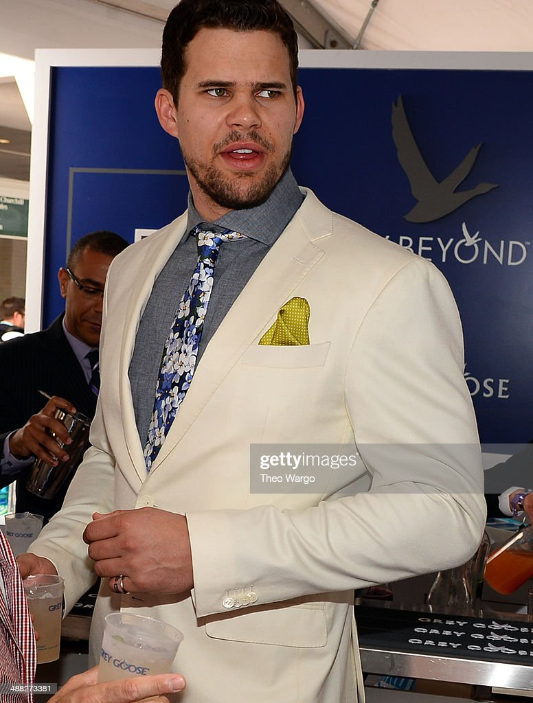 Kris Humphries at GREY GOOSE Lounge at 140th Kentucky Derby at Churchill Downs on May 3, 2014 in Louisville, Kentucky.