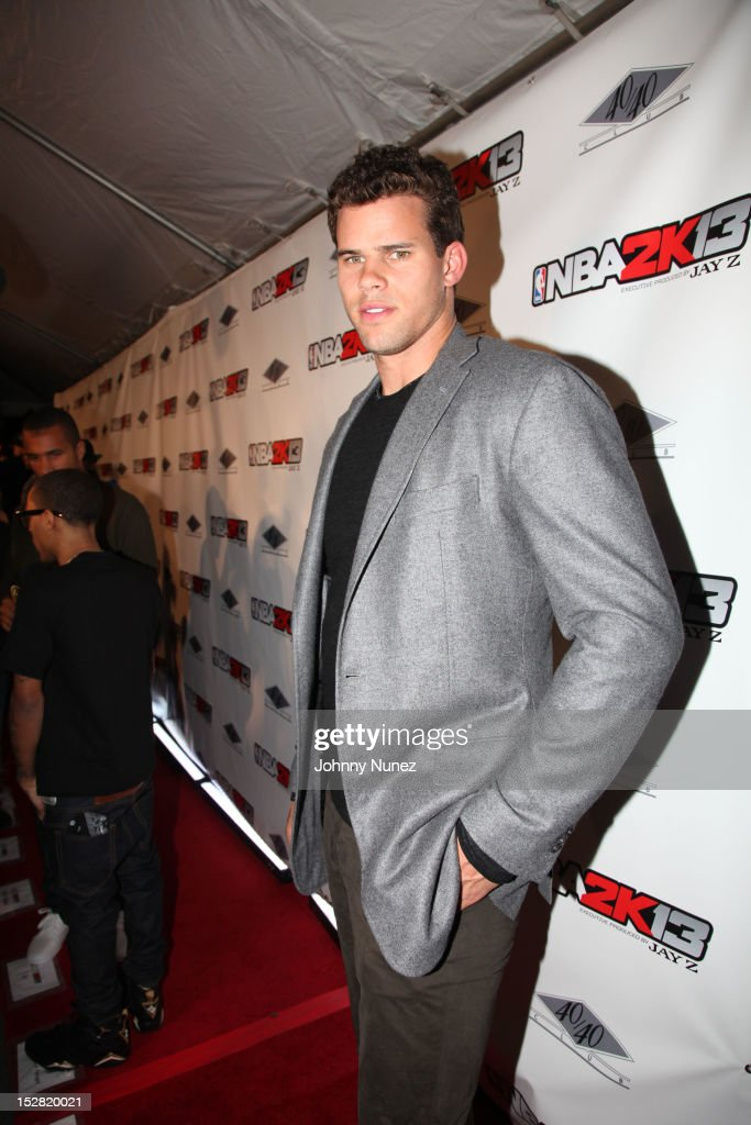 Kris Humphries attends The Premiere Of NBA 2K13 With Cover Athletes And NBA Superstars at 40 / 40 Club on September 26, 2012 in New York City.