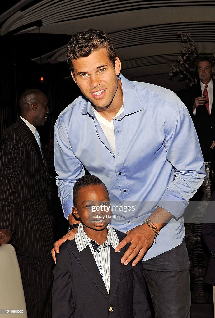 <a gi-track='captionPersonalityLinkClicked' href=/galleries/search?phrase=Kris+Humphries&family=editorial&specificpeople=209199 ng-click='$event.stopPropagation()'>Kris Humphries</a> attends The Trent Tucker Celebrity Gala presented by the All 4 Kids Foundation and The Max Cure Foundation at STK on September 9, 2012 in New York, New York.