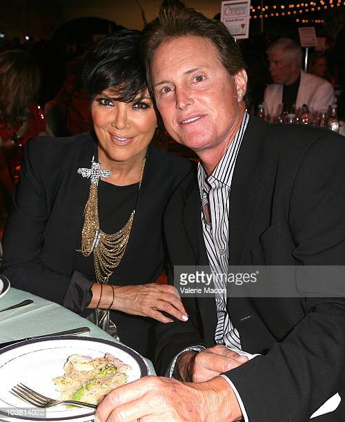 Kris Jenner and Bruce Jenner attend the Taste Of Beverly Hills Wine Food Festival Opening Night on September 2 2010 in Beverly Hills California