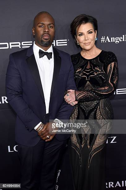 Kris Jenner and Corey Gamble attend the 2016 Angel Ball hosted by Gabrielle's Angel Foundation For Cancer Research on November 21 2016 in New York...
