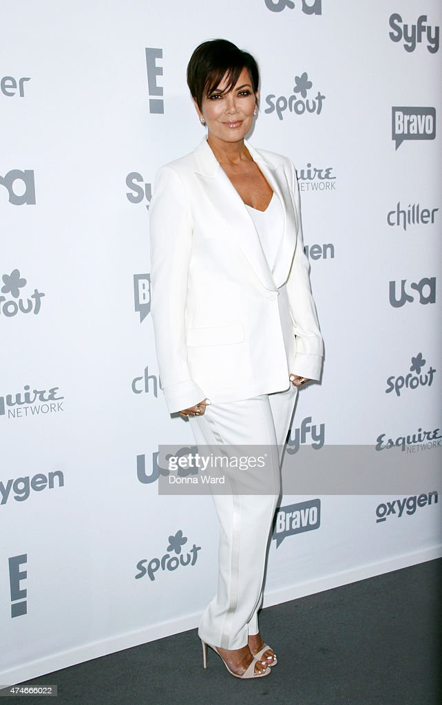 Kris Jenner appears during the 2015 NBCUniversal Cable Entertainment Upfront at The Jacob K. Javits Convention Center on May 14, 2015 in New York City.
