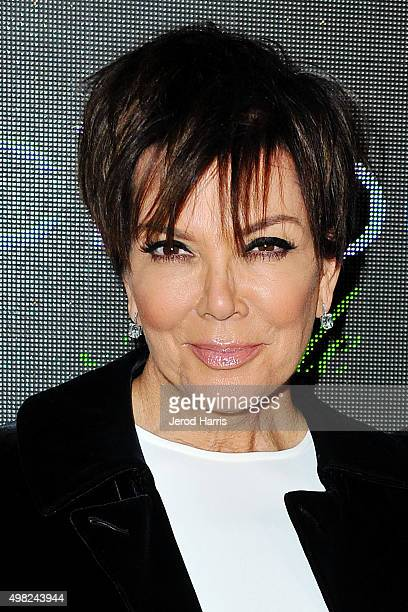 Kris Jenner arrives at Sean 'Diddy' Combs Exclusive Birthday Celebration on November 21 2015 in Beverly Hills California