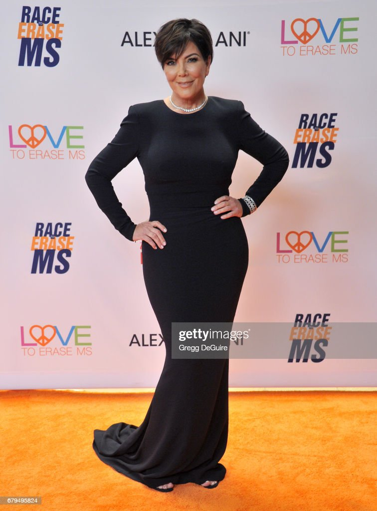 Kris Jenner arrives at the 24th Annual Race To Erase MS Gala at The Beverly Hilton Hotel on May 5, 2017 in Beverly Hills, California.