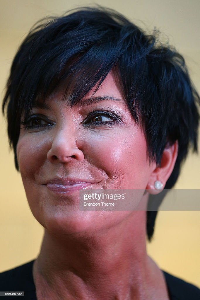 Kris Jenner arrives at the book launch of 'Nomad Two Worlds' by Russell James on November 1, 2012 in Sydney, Australia.
