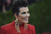 Kris Jenner arrives at the Costume Institute Gala Benefit at The Metropolitan Museum of Art May 5 2015 in New York AFP PHOTO / TIMOTHY A CLARY