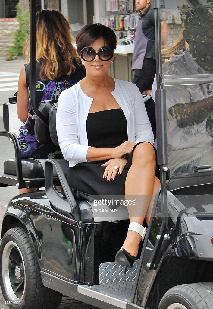 Kris Jenner as seen on July 10, 2013 in Los Angeles, California.