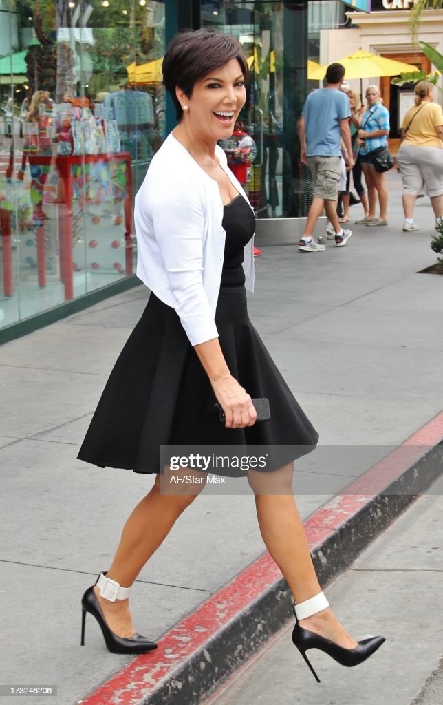 Kris Jenner as seen on July 10, 2013 in Los Angeles, California.