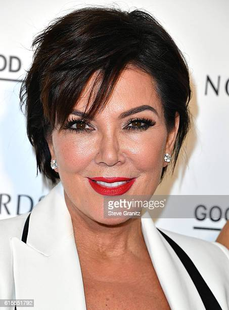 Kris Jenner at the Khloe Kardashian Good American Launch Event at Nordstrom at the Grove on October 18 2016 in Los Angeles California