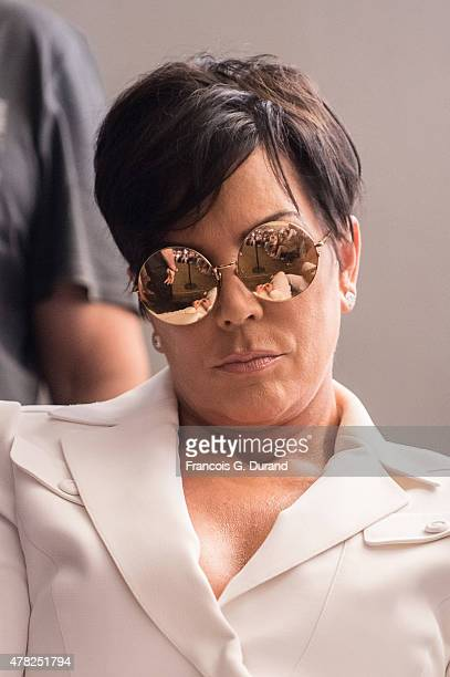 Kris Jenner attends a 'Sudler' talk during Cannes Lions International Festival of Creativity on June 24 2015 in Cannes France