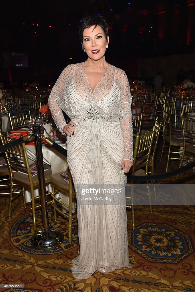 Kris Jenner attends Angel Ball 2014 hosted by Gabrielle's Angel Foundation at Cipriani Wall Street on October 20 2014 in New York City