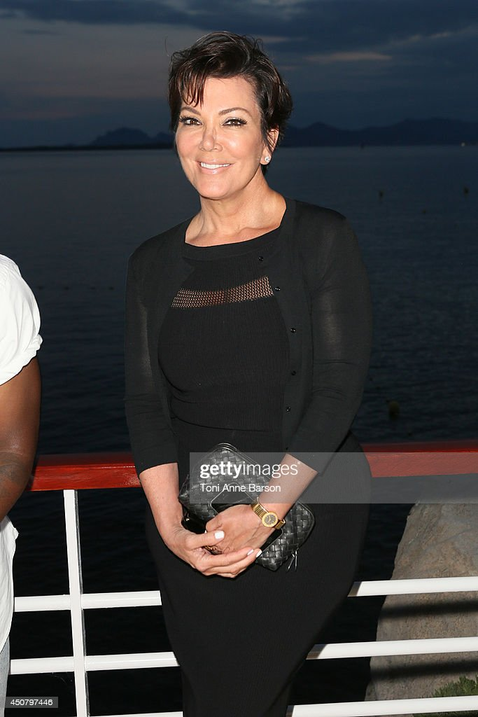 <a gi-track='captionPersonalityLinkClicked' href=/galleries/search?phrase=Kris+Jenner&family=editorial&specificpeople=762610 ng-click='$event.stopPropagation()'>Kris Jenner</a> attends Clear Channel Media And Entertainment And MediaLink Dinner at Hotel du Cap-Eden-Roc on June 17, 2014 in Cap d'Antibes, France.